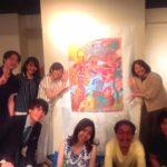 2017年7月22日(土)イベントレポート「Ami Latte x だいさく Jazz x Live Painting!」